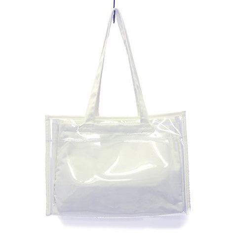 Image for Ita Bag - Clear Tote Bag - White