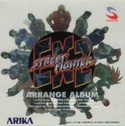 Image 1 for Street Fighter EX2 Arrange Album