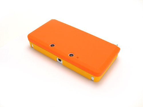 Image 3 for Palette Rubber Hardcover for 3DS (Sunset Orange)
