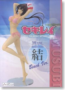 Image 1 for Sekirei - Musubi - 1/6 - Swimsuit ver. Pearl Pink Beach ver. (Aizu Project)