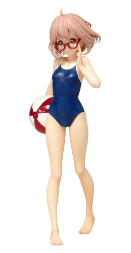 Image 1 for Kyoukai no Kanata - Kuriyama Mirai - Beach Queens - 1/10 - Swimsuit ver. (Wave)