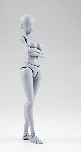 Image 4 for S.H.Figuarts - Body-chan - Yabuki Kentarou Edition, DX Set, Gray Color Ver.