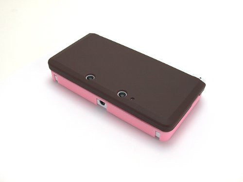 Image 3 for Palette Rubber Hardcover for 3DS (Chocolate Pink)