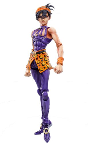 Image 1 for Jojo no Kimyou na Bouken - Vento Aureo - Aerosmith - Clash - Formaggio - Narancia Ghirga - Super Action Statue #44 (Medicos Entertainment)