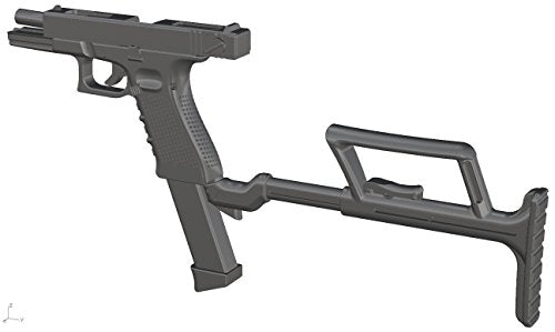 Image 2 for Little Armory LA028 - Glock 17, 18C - 1/12 (Tomytec)