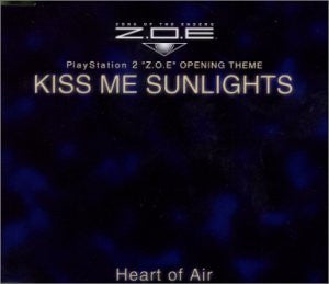 "Image 1 for PlayStation 2 ""Z.O.E"" OPENING THEME: KISS ME SUNLIGHTS"