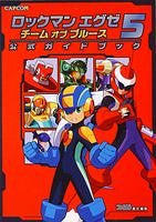 Image for Mega Man Battle Network 5 Team Proto Man Official Guide Book / Gba