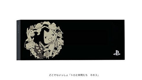 "Toro And Friends ""Dokodemo Isshou"" PS4 Coverplate 3 Black"
