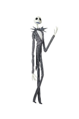 Image 2 for The Nightmare Before Christmas - Jack Skellington - Miracle Action Figure #45 - 1/1 (Medicom Toy)