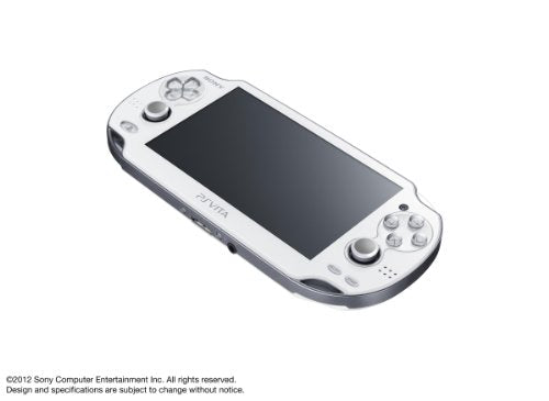 Image 2 for PSVita PlayStation Vita - Wi-Fi Model [Crystal White]