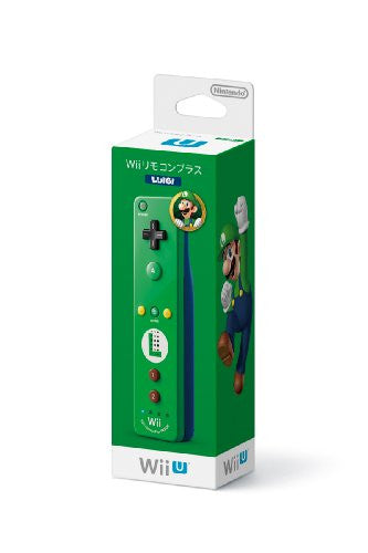 Image 1 for Wii Remote Control Plus (Luigi)