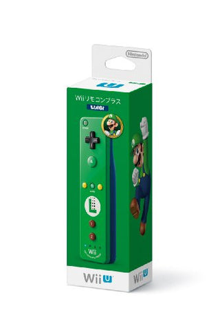 Image for Wii Remote Control Plus (Luigi)