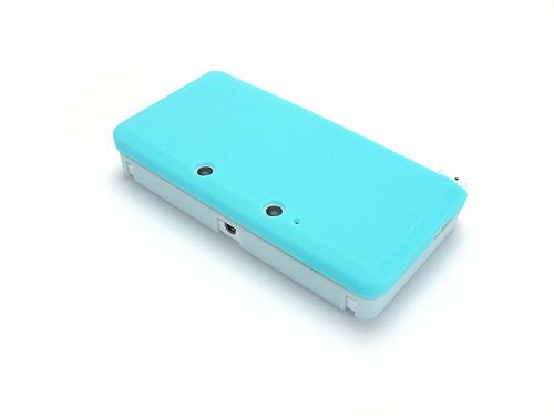 Image 3 for Palette Rubber Hardcover for 3DS (Sky Blue)