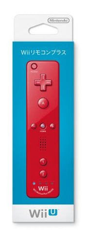 Image for Wii Remote Plus Control (Red)