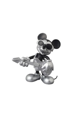 Image for Mickey Mouse - Ultra Detail Figure - Roen Collection - 164 - Black and Silver ver. Grunge Rock ver. (Medicom Toy)