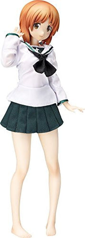 Image for Girls und Panzer - Nishizumi Miho - B-style - 1/4 - School Uniform & Ankou Suit Ver. (FREEing)