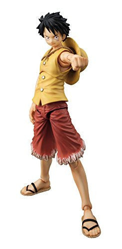 Image 1 for One Piece - Monkey D. Luffy - Variable Action Heroes - Past Blue, Ver.Yellow