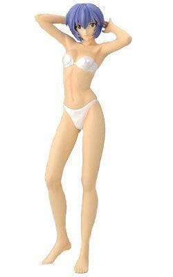 Image 1 for Shin Seiki Evangelion - Ayanami Rei - 1/8 - Swimsuit White Ver.2 (Aizu Project)