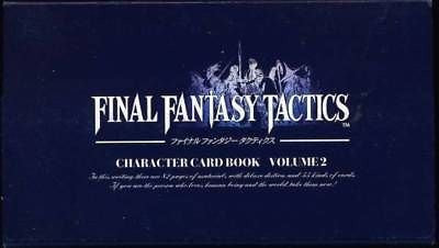 Image for Final Fantasy Tactics Character Card Book Vol.2 / Ps