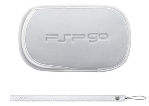 Image for PSP PlayStation Go Pouch & Strap (White)