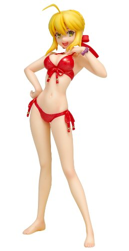 Image 1 for Fate/EXTRA - Saber EXTRA - Beach Queens - 1/10 - Red Edition, Swimsuit ver. (Wave)