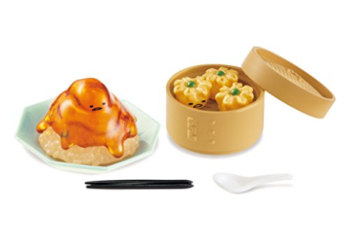 Gudetama - Gudetama Chinese Restaurant - Miniature - Re-Ment Sanrio Series - 1 - Tomato Egg (Re-Ment)