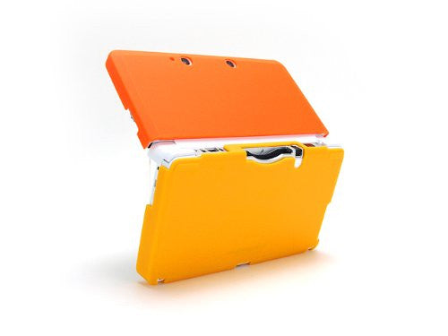 Image 4 for Palette Rubber Hardcover for 3DS (Sunset Orange)