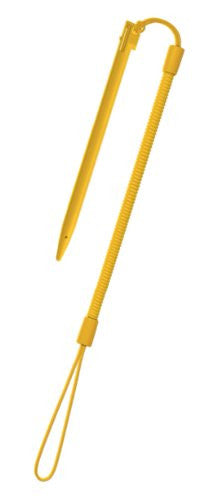 Image 1 for Touch Pen Leash for 3DS LL (Shiny Yellow)