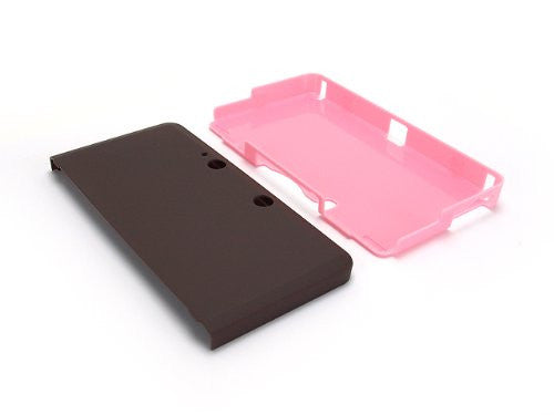 Image 5 for Palette Rubber Hardcover for 3DS (Chocolate Pink)