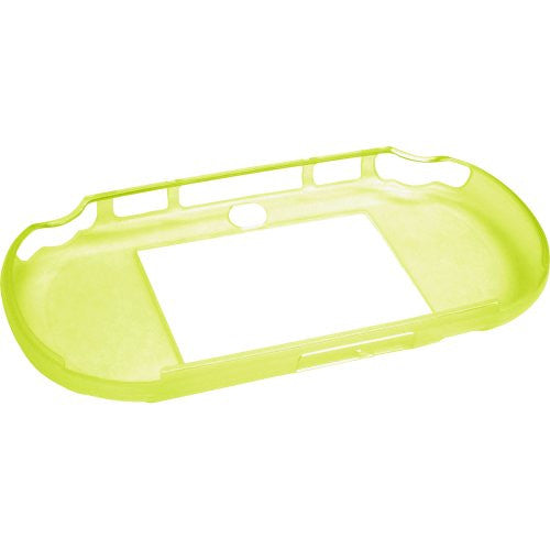 Image 4 for TPU Jacket for PlayStation Vita Slim (Lime Green)