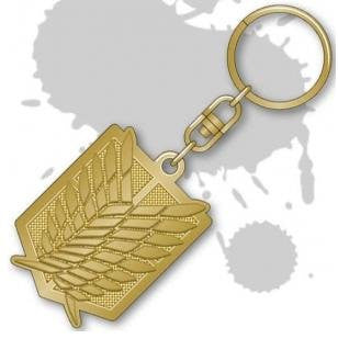 Image 1 for Shingeki no Kyojin - Keyholder - Survey Corps Emblem (Movic)