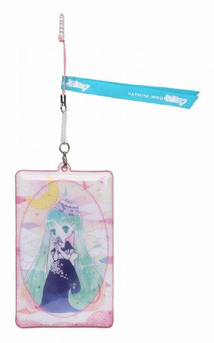 Image 1 for Vocaloid - Hatsune Miku - Keyholder - Mobile Cleaner - Earphone Jack Accessory - Yoru Miku (Sekiguchi)