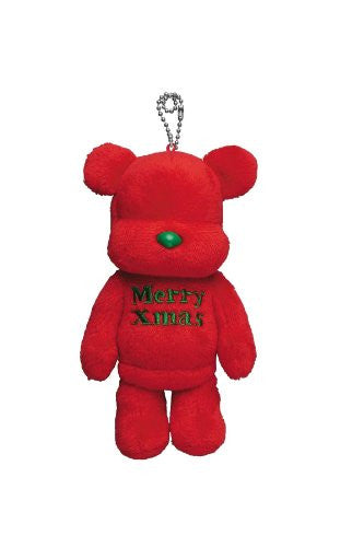 Image 1 for Otayori Be@rbrick - Merry Xmas - Red (Medicom Toy)