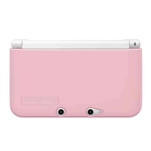 Image 2 for TPU Yawakata Cover for 3DS LL (Clear Pink)