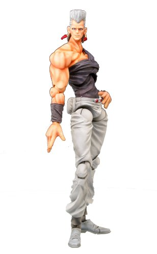 Image 1 for Jojo no Kimyou na Bouken - Stardust Crusaders - Jean Pierre Polnareff - Super Action Statue #4 (Medicos Entertainment)