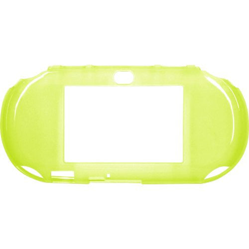 Image 2 for TPU Jacket for PlayStation Vita Slim (Lime Green)