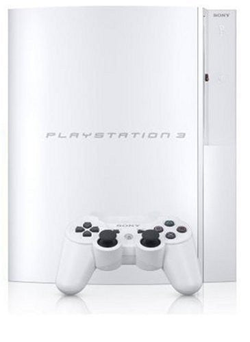 Image 1 for PlayStation3 Console (HDD 40GB Model) Clear White - 110V