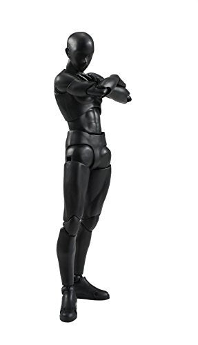 Image 1 for S.H.Figuarts - Body-kun - Solid Black Color ver. (Bandai)
