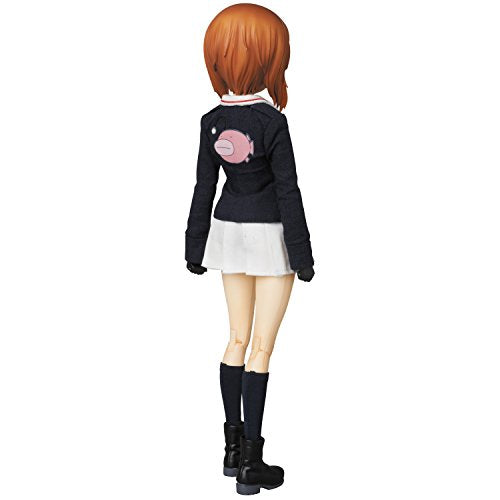 Image 3 for Girls und Panzer - Nishizumi Miho - Real Action Heroes #682 - 1/6 (Medicom Toy)