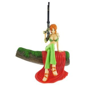 Image 1 for One Piece - Nami - Door Painting Collection Figure - Animal ver. (Plex)
