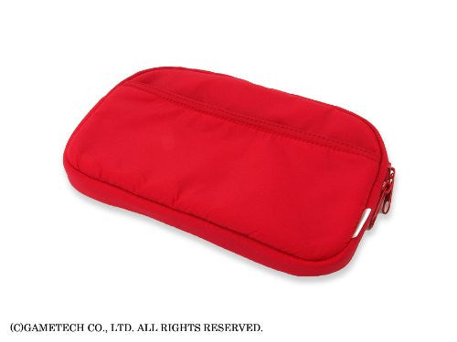 Image 3 for Just In One 3DS LL Multi Pouch (Red)
