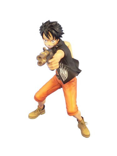 Image 2 for One Piece - Monkey D. Luffy - Door Painting Collection Figure - 1/7 - The Three Musketeers Ver. (Plex)