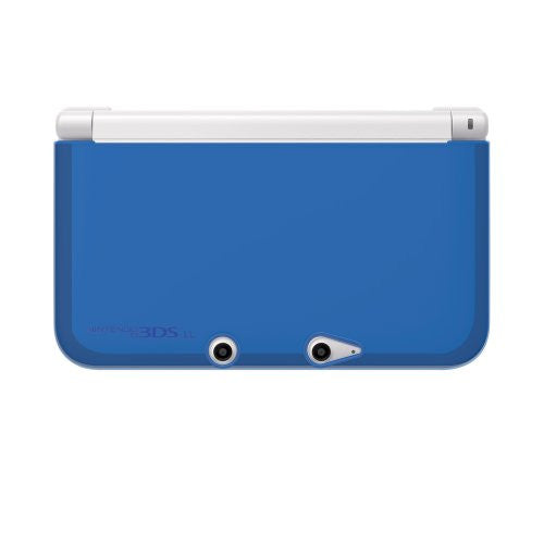 Image 2 for TPU Yawakata Cover for 3DS LL (Clear Blue)