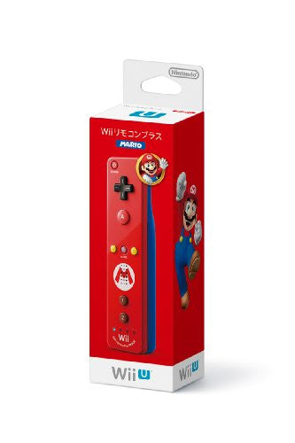 Image 1 for Wii Remote Control Plus (Mario)