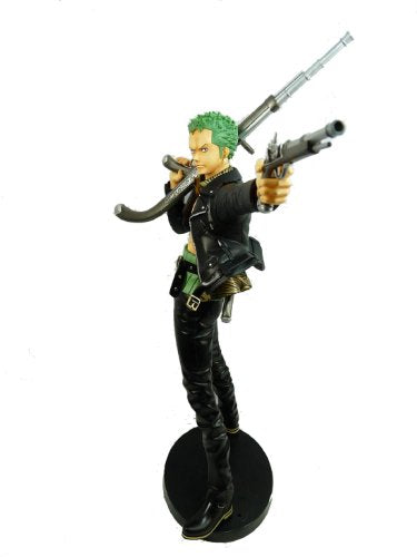 Image 2 for One Piece - Roronoa Zoro - Door Painting Collection Figure - 1/7 - The Three Musketeers Ver. (Plex)