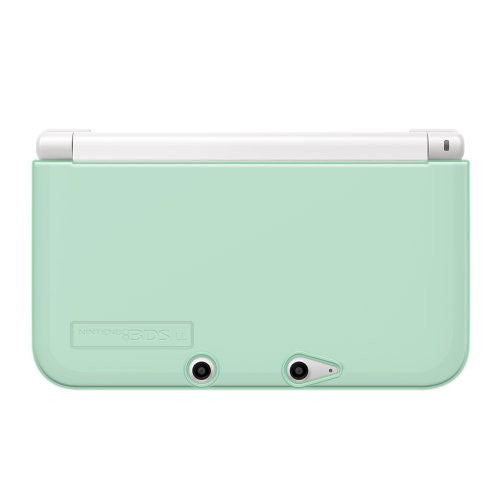 Image 2 for TPU Yawakata Cover for 3DS LL (Clear Mint)