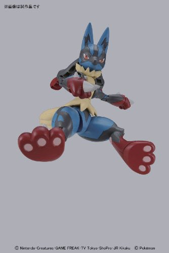 Image 1 for Pocket Monsters - Lucario - 35 - Mega Evolution (Bandai)