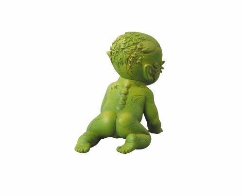 Image 6 for Jojo no Kimyou na Bouken - Stone Ocean - Enrico Pucci - Green Baby - Real Action Heroes #522 - 1/6 (Medicom Toy)