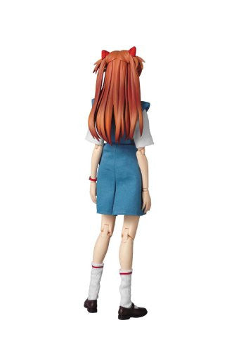 Image 4 for Shin Seiki Evangelion - Souryuu Asuka Langley - Real Action Heroes #502 - 1/6 - Uniform Version (Medicom Toy)