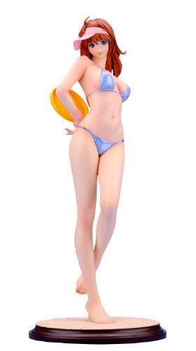 Image 1 for Original Yasumi-chan Series - Holiday - 1/5 - Swimsuit Blue ~on the Beach~ refined ver. (Kurushima)